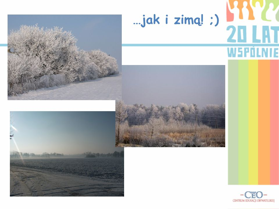 …jak i zimą! ;)