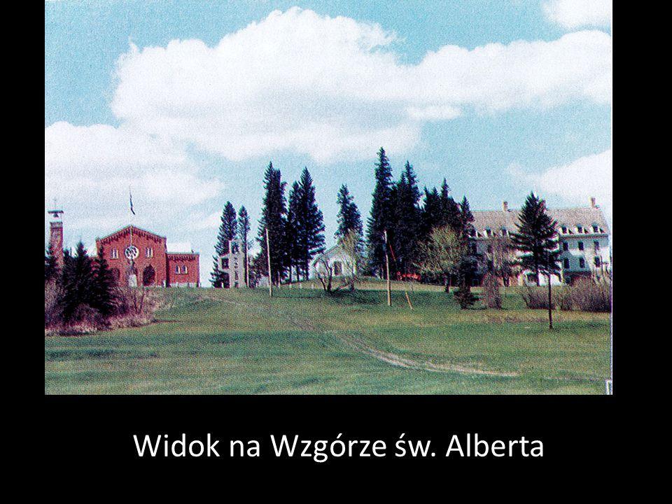 Widok na Wzgórze św. Alberta