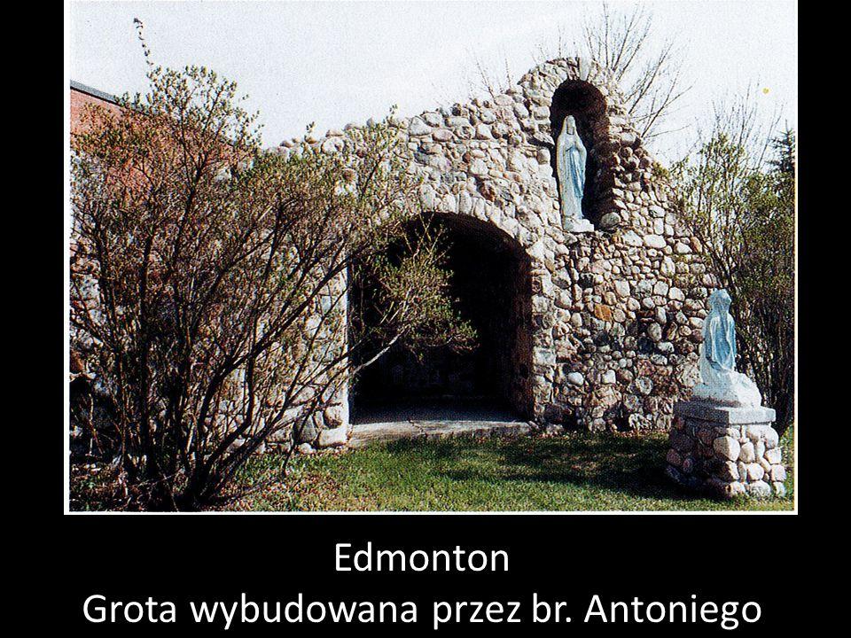 Edmonton Grota wybudowana przez br. Antoniego