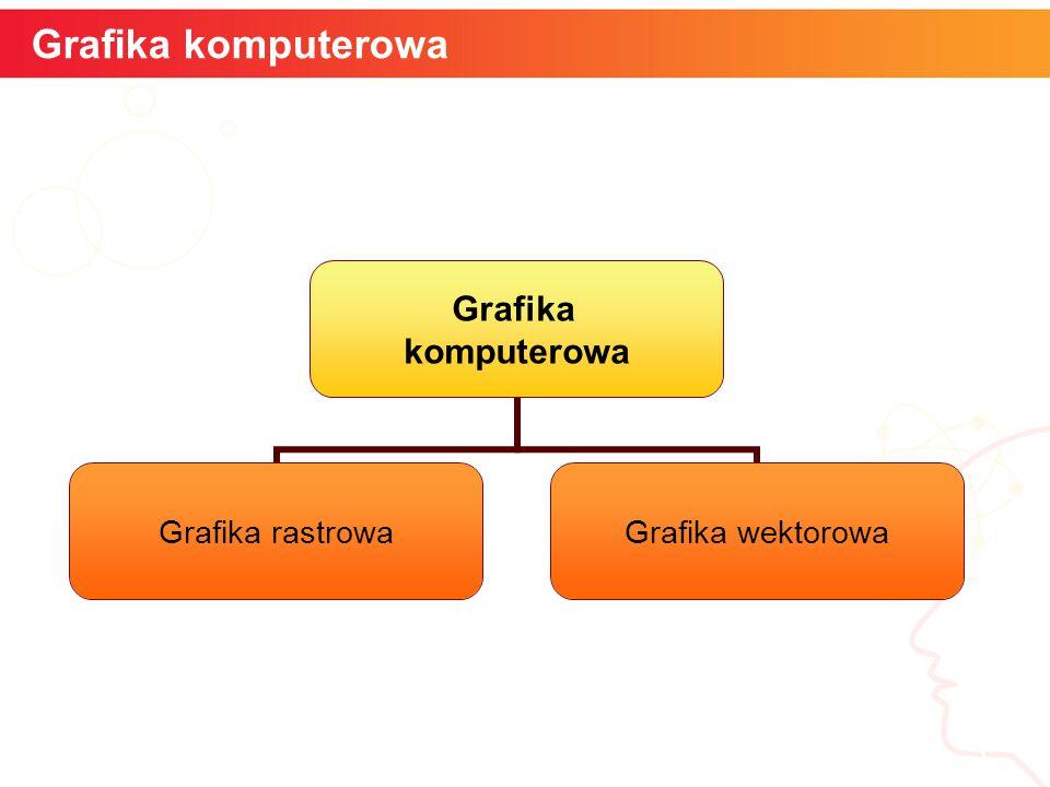 Grafika komputerowa informatyka + 3 Grafika komputerowa Grafika rastrowa Grafika wektorowa