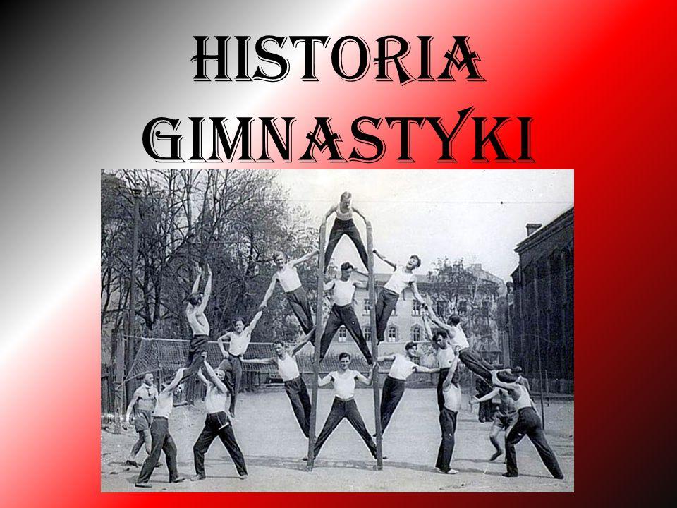 Historia Gimnastyki