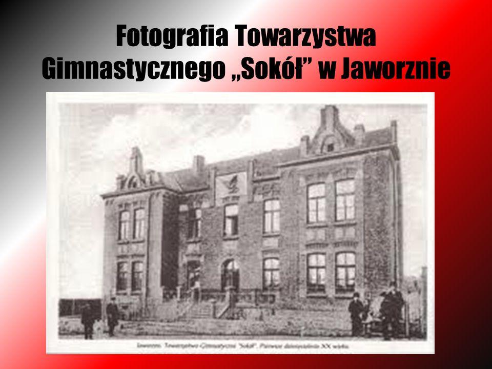 """Fotografia Towarzystwa Gimnastycznego """"Sokół"""" w Jaworznie"""