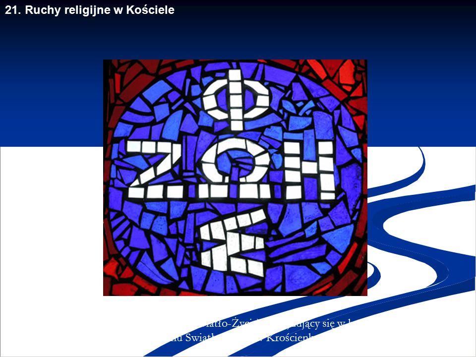 21. Ruchy religijne w Kościele Kaplica Chrystusa Sługi w Centrum Ruchu Światło-Życie, Krościenko