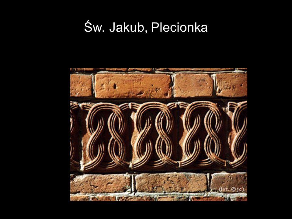 Św. Jakub, Plecionka