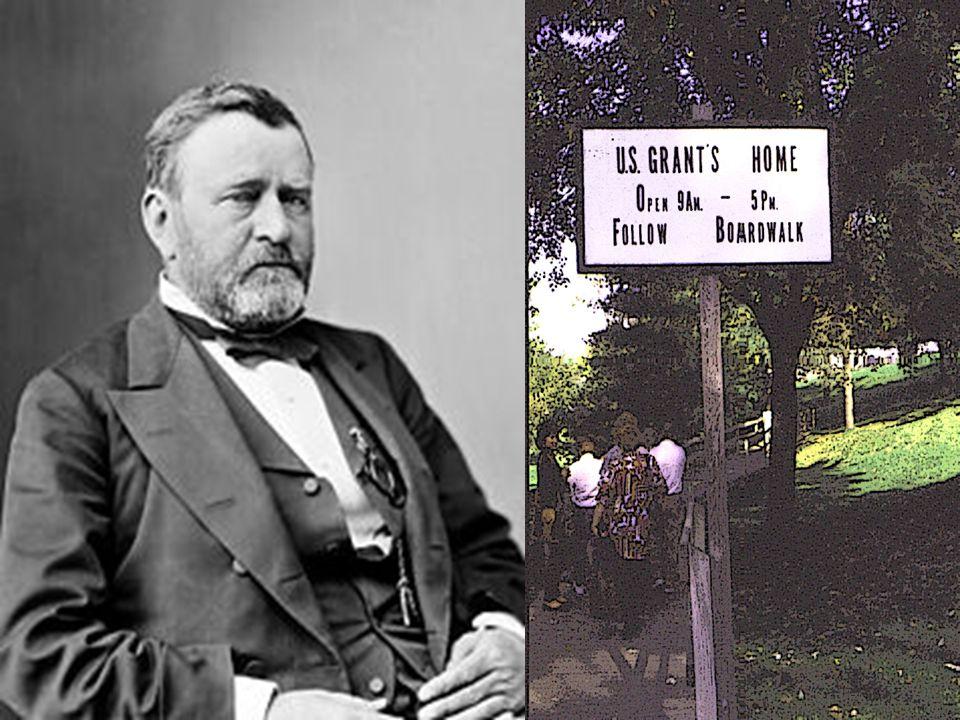 UMIERA NA RAKA GARDŁA 23. LIPCA 1885 r. - ZOSTAŁ POCHOWANY W NOWYM JORKU.