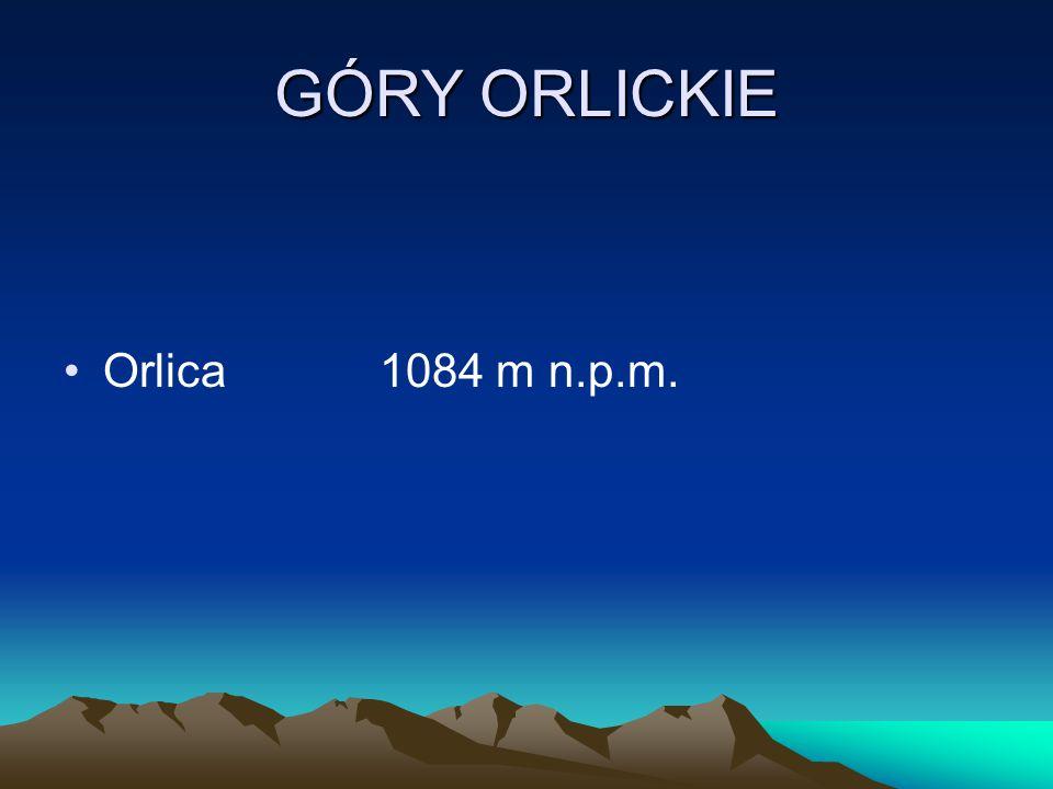 GÓRY ORLICKIE Orlica1084 m n.p.m.