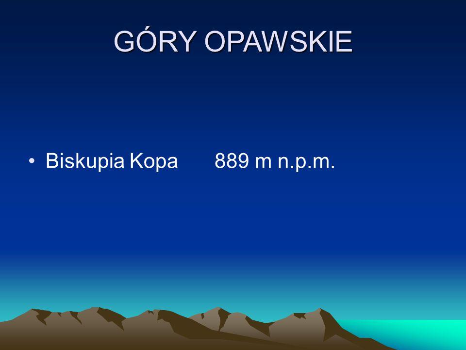 GÓRY OPAWSKIE Biskupia Kopa889 m n.p.m.