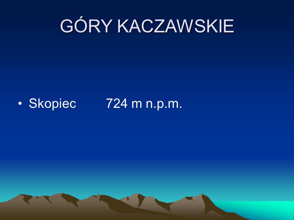 GÓRY KACZAWSKIE Skopiec724 m n.p.m.