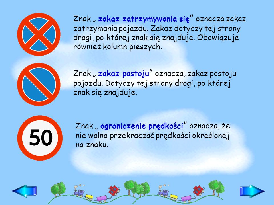 """Znak """" pierwszeństwo dla nadjeżdżających z przeciwka oznacza, że nie wolno wjeżdżać na tę drogę, dopóki z przeciwka jadą pojazdy."""