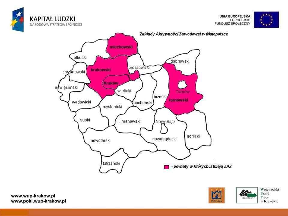 Kryteria strategiczne a) 100% uczestników projektu zamieszkuje obszar powiatu, na którym odsetek mieszkańców korzystających z pomocy społecznej wynosi powyżej 10% (tj.