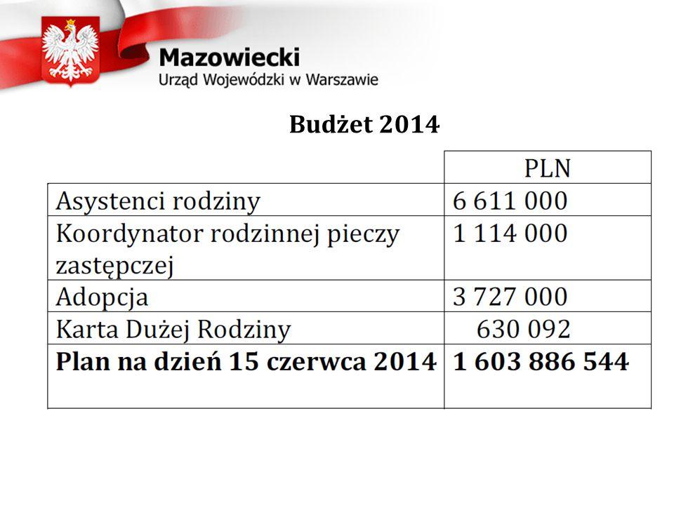 Budżet 2014