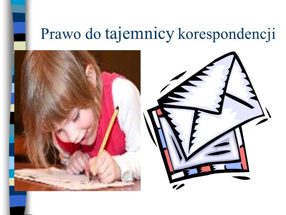 Prawo do tajemnicy korespondencji