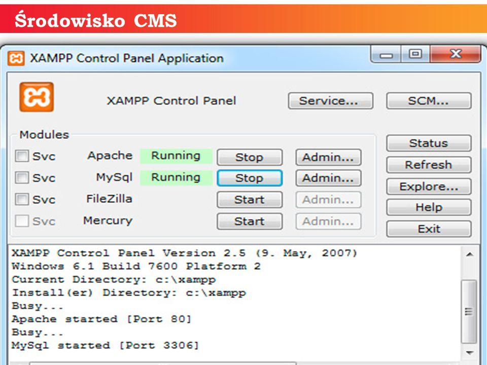 informatyka + 15 Środowisko CMS