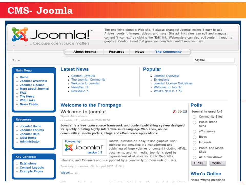 informatyka + 17 CMS- Joomla