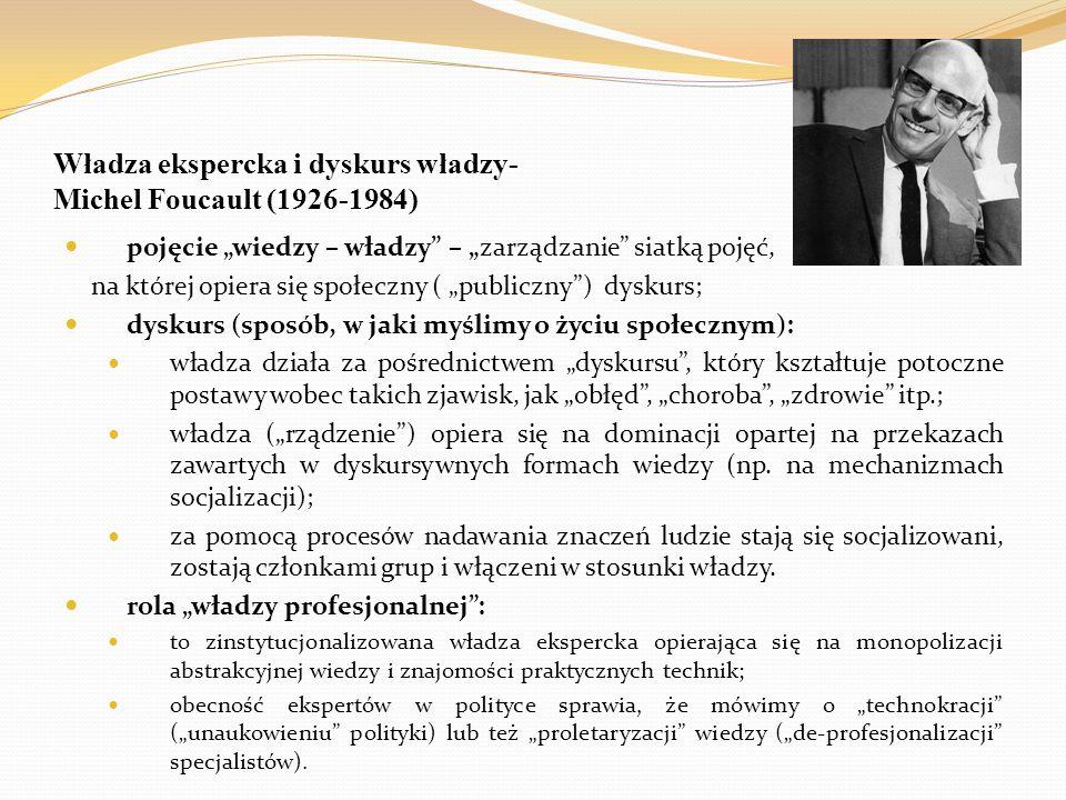 """Biowładza (""""biopolityka ) w ujęciu Michela Foucaulta typy władzy: suwerena (obejmuje terytorium - bogactwo), dyscyplinarna (dotyczy nas jako osób i pracy) i biowładza (skierowana na populację – jej dobrostan i liczebność)."""