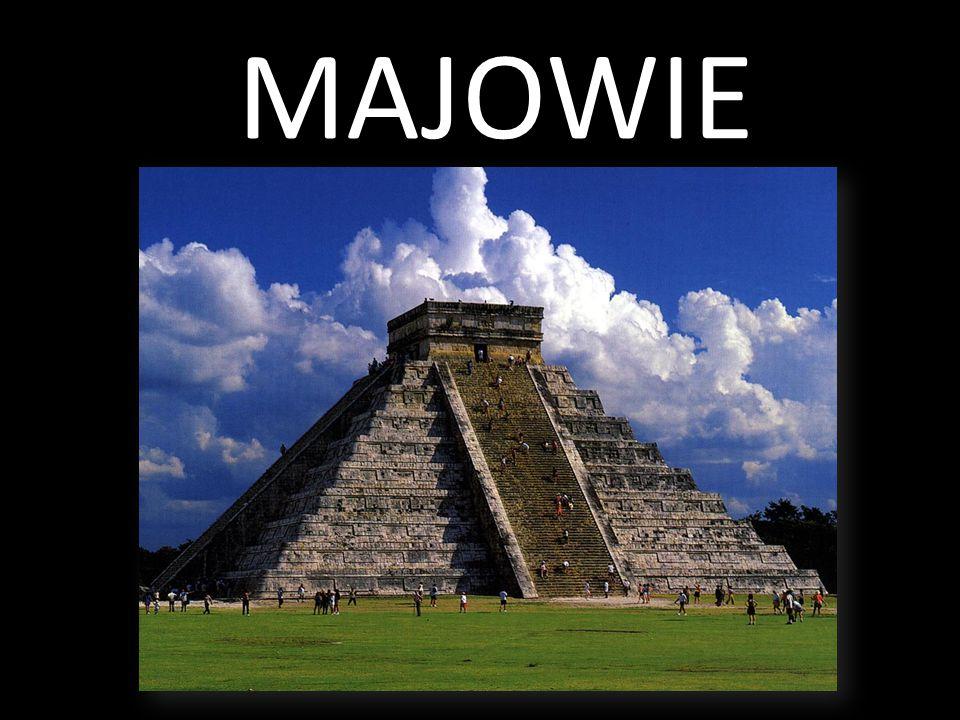 Cywilizacja Majów rozwinęła się na terenie dzisiejszego Meksyku, Gwatemali, Salwadoru i Hondurasu.