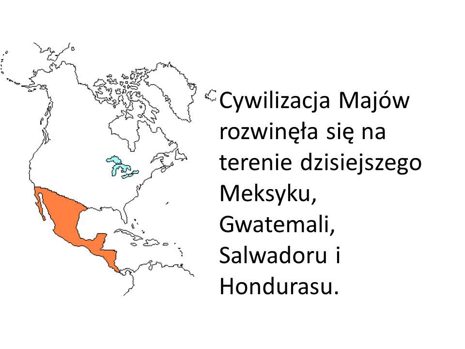 Podobnie jak Aztekowie i Majowie zajmowali się głównie rolnictwem.