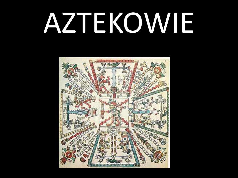 Aztekowie przybyli na tereny środkowego Meksyku z północy prawdopodobnie w XII w.