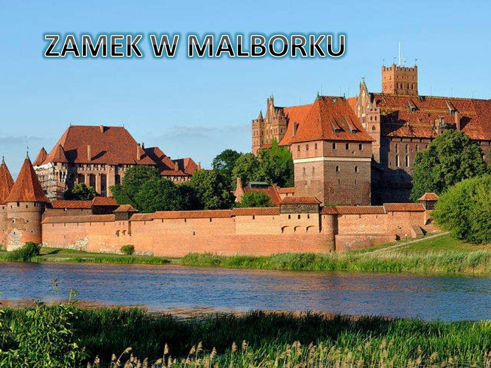 Położenie Zamek wznosi się na wzgórzu nad Nogatem, na wschodniej krawędzi pradoliny Wisły w Malborku, ok.