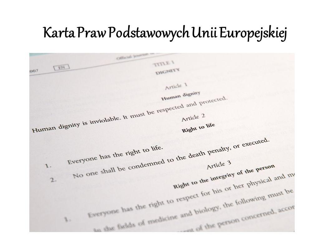 Artykuł 6 Traktatu Lizbońskiego 1.
