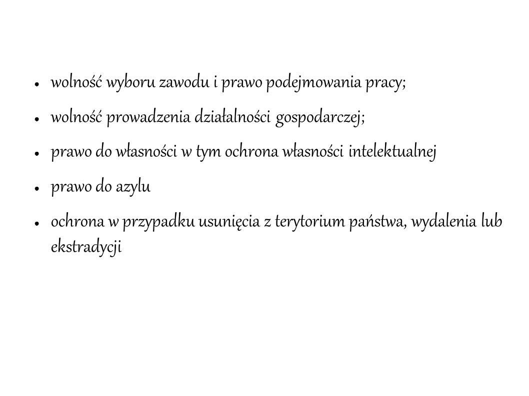 """Rozdział III - """"Równość art.20-26 ● równość wobec prawa; ● niedyskryminacja (m.in."""