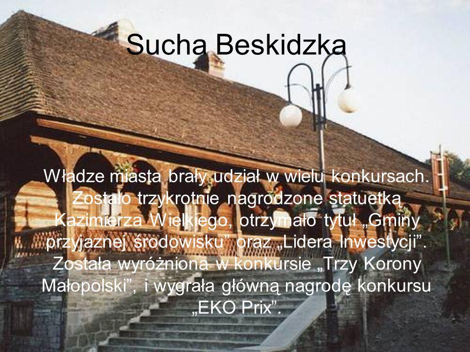 Nagrody Suchej Beskidzkiej Samorząd Terytorialny w Suchej Beskidzkiej Zespół Szkół im. Jana Pawła II w Suchej Beskidzkiej