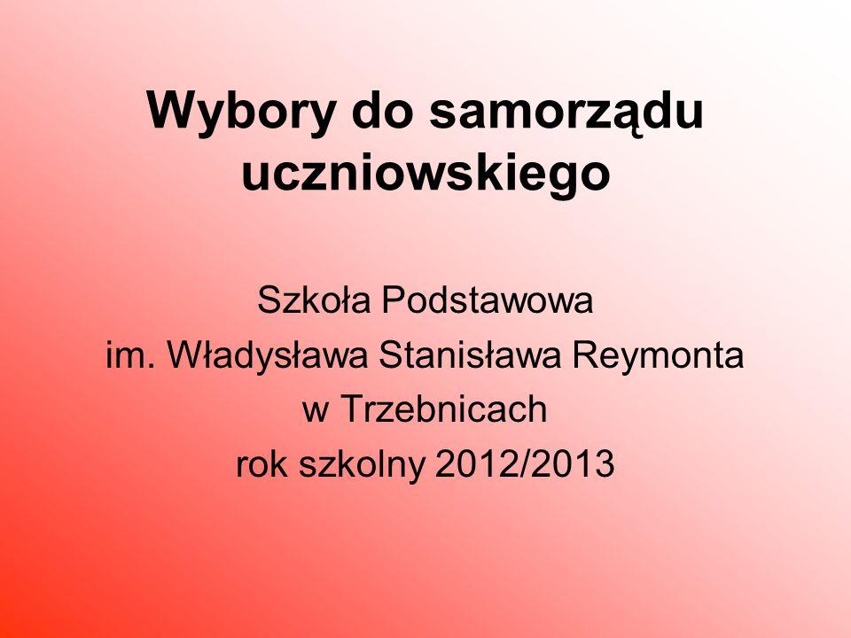 Wybory do samorządu uczniowskiego Szkoła Podstawowa im.