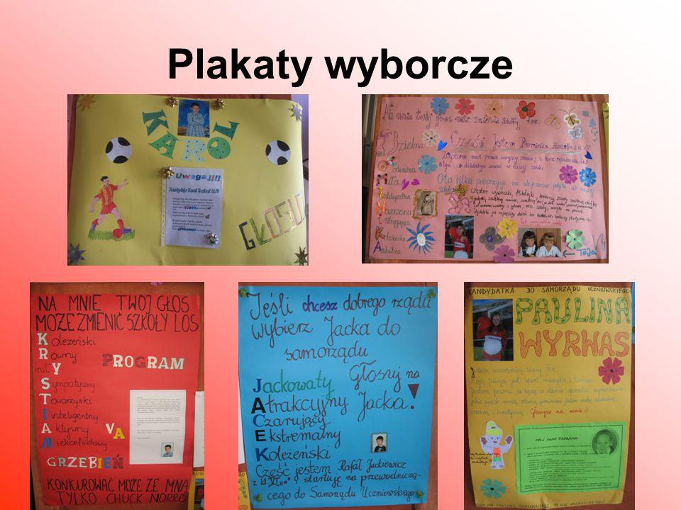 Samorząd Uczniowski 2012/2013 Przewodnicząca – Dominika Pieczonka Zastępca przewodniczącego- Krystian Grzebień