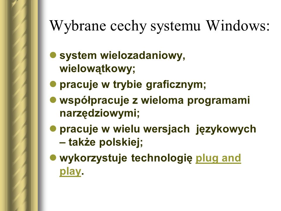 Najważniejsze wersje Windows 2003 Windows XP Windows NT 4.0 Windows Millenium Windows 95 - 98 Windows 3.0