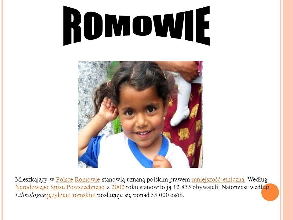 Mieszkający w Polsce Romowie stanowią uznaną polskim prawem mniejszość etniczną. Według Narodowego Spisu Powszechnego z 2002 roku stanowiło ją 12 855