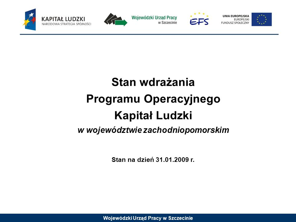 Wojewódzki Urząd Pracy w Szczecinie Ramowe Wytyczne dla 6.2 Ważne informacje, które należy zawrzeć we wniosku o dofinansowanie projektu: –liczby osób, którym zostanie przyznane wsparcie finansowe oraz kwoty środków przeznaczonych na ten cel.