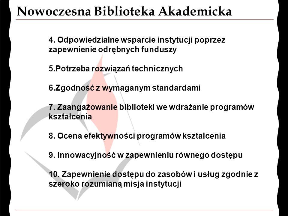Nowoczesna Biblioteka Akademicka 4.