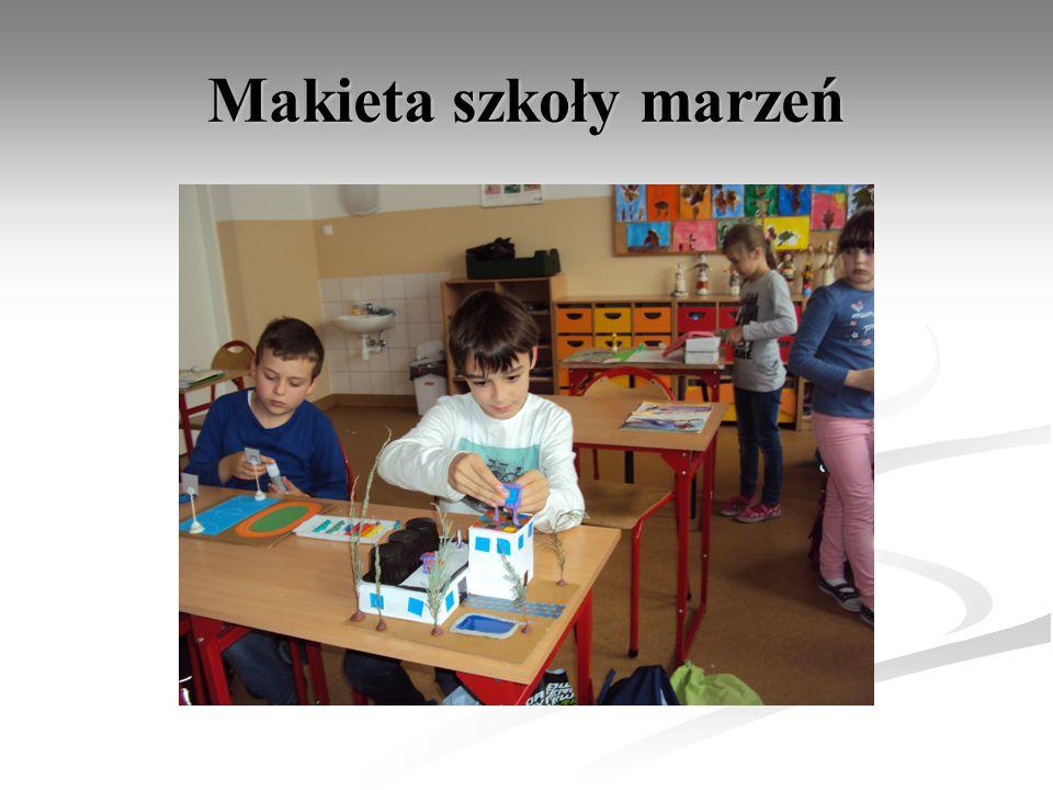 Makieta szkoły marzeń