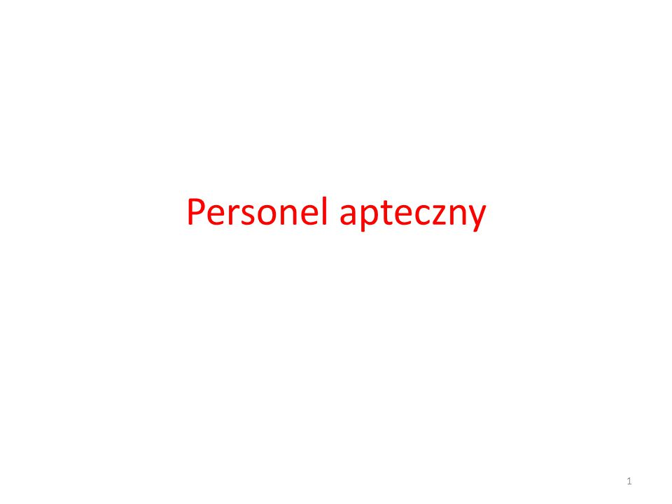 Personel apteczny w UK Sales assistant, Dispensary assistant, Pharmacy technician, Accuracy Checking Technician (ACT), Magister farmacji.