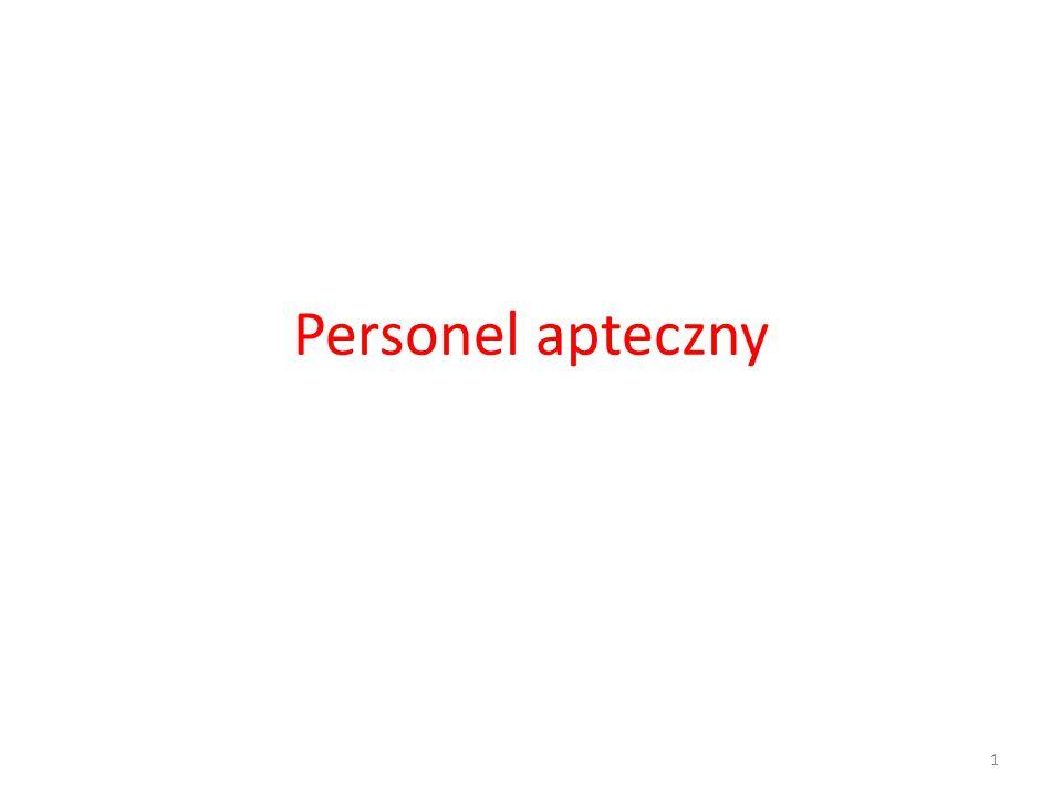 Kierownik apteki Zadania kierownika apteki ogólnodostępnej, spełniającego wymogi art.