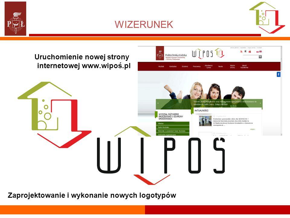 WIZERUNEK Uruchomienie nowej strony internetowej www.wipoś.pl Zaprojektowanie i wykonanie nowych logotypów