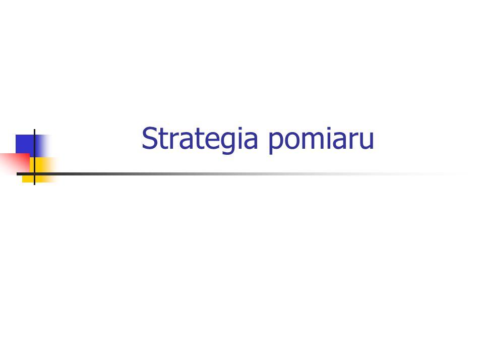 2 Strategia pomiaru 1 Zdefiniowanie układu współrzędnych Ustalenie i zamocowanie przedmiotu – projekt uchwytu Zaprojektowanie i zestawienie systemu trzpieni pomiarowych Kwalifikacja systemu trzpieni Wybór elementów geometrycznych do pomiaru Wybór kryterium skojarzenia Zdefiniowanie strategii próbkowania Zaprojektowanie protokołu pomiarowego
