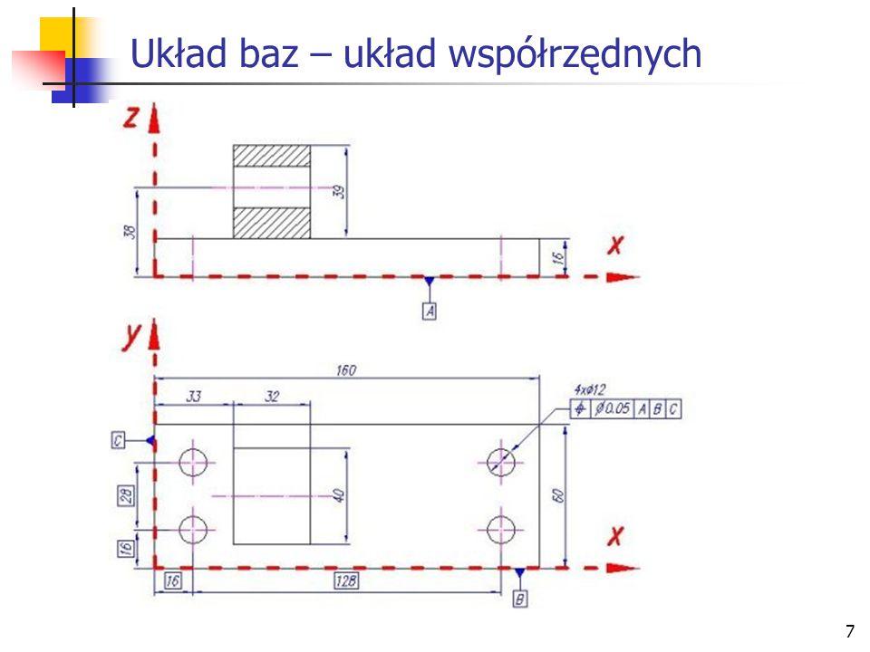 7 Układ baz – układ współrzędnych