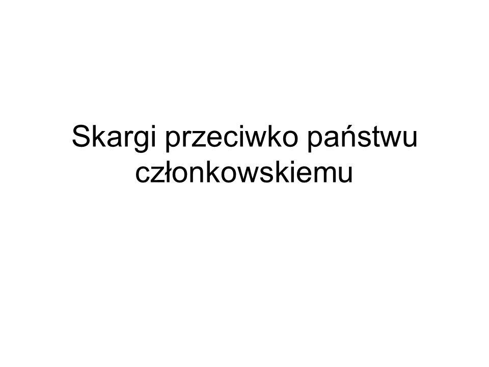 skarga wnoszona przez Komisję (art.