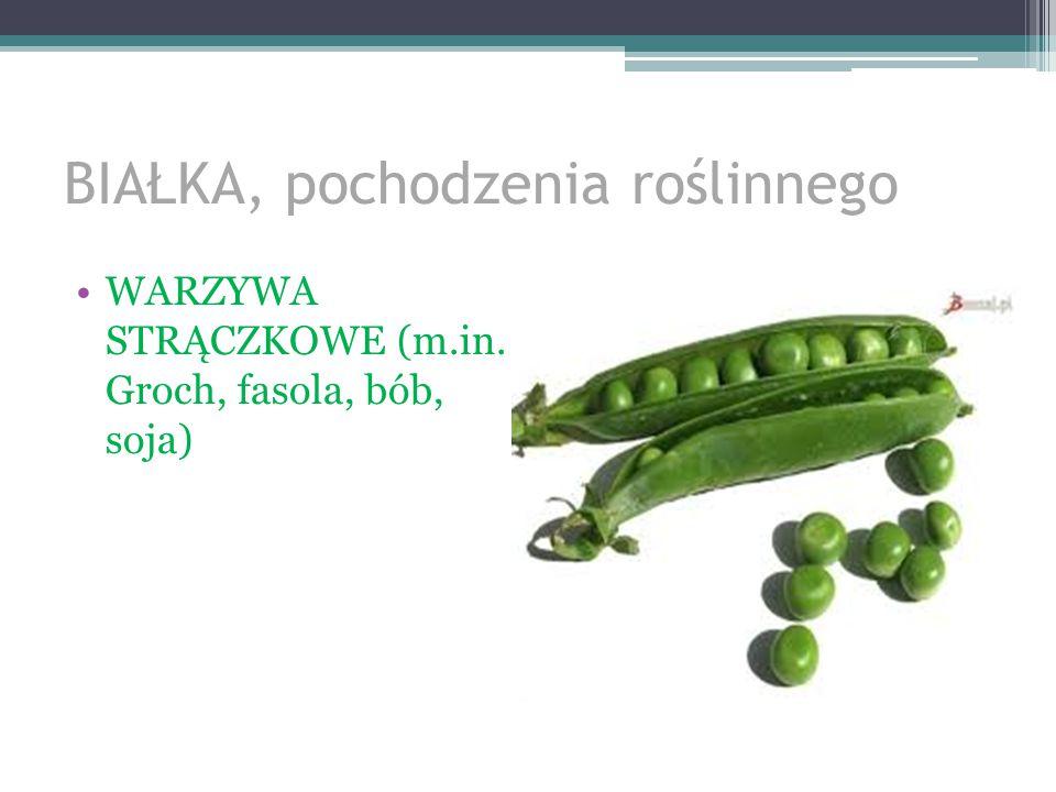 BIAŁKA, pochodzenia roślinnego KASZE