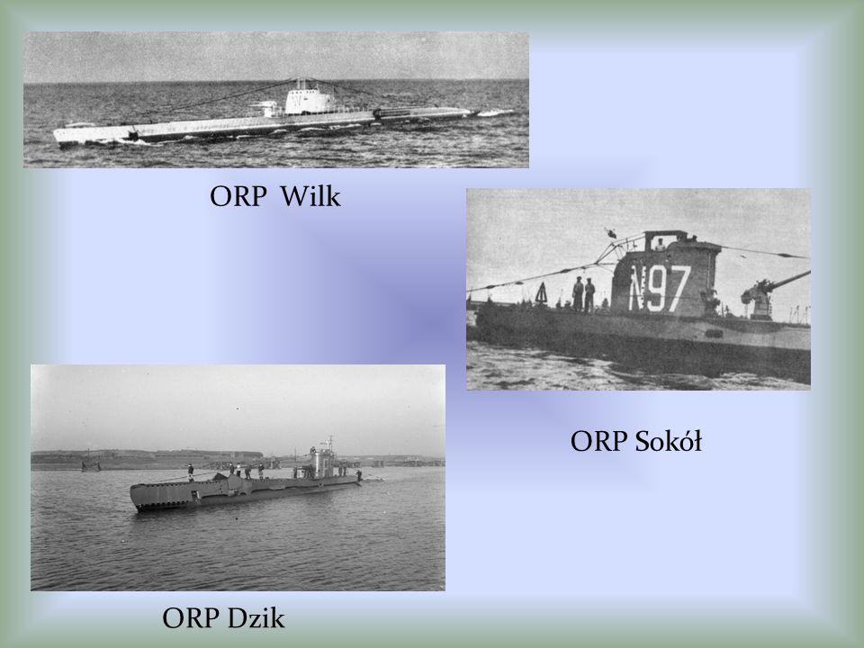 ORP Wilk ORP Sokół ORP Dzik