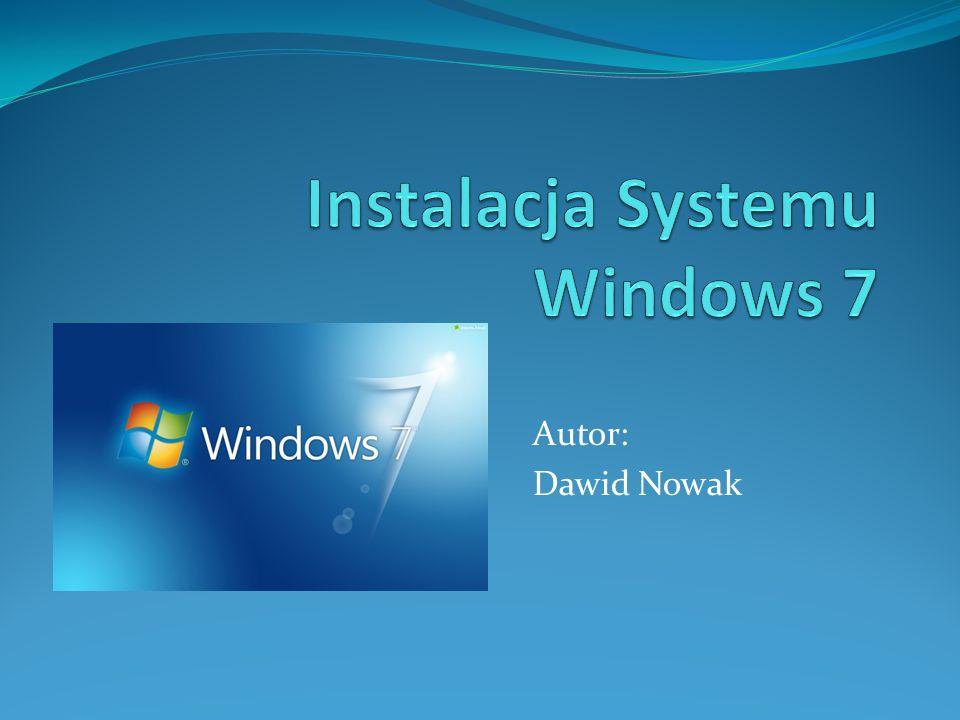 Na naklejce dostarczonej wraz z nośnikiem odnajdujemy numer klucza produktu i wpisujemy go w tym oknie instalatora systemu.