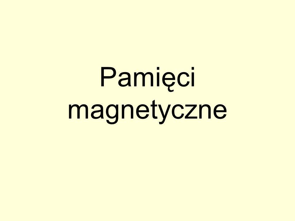 Pamięci magnetyczne