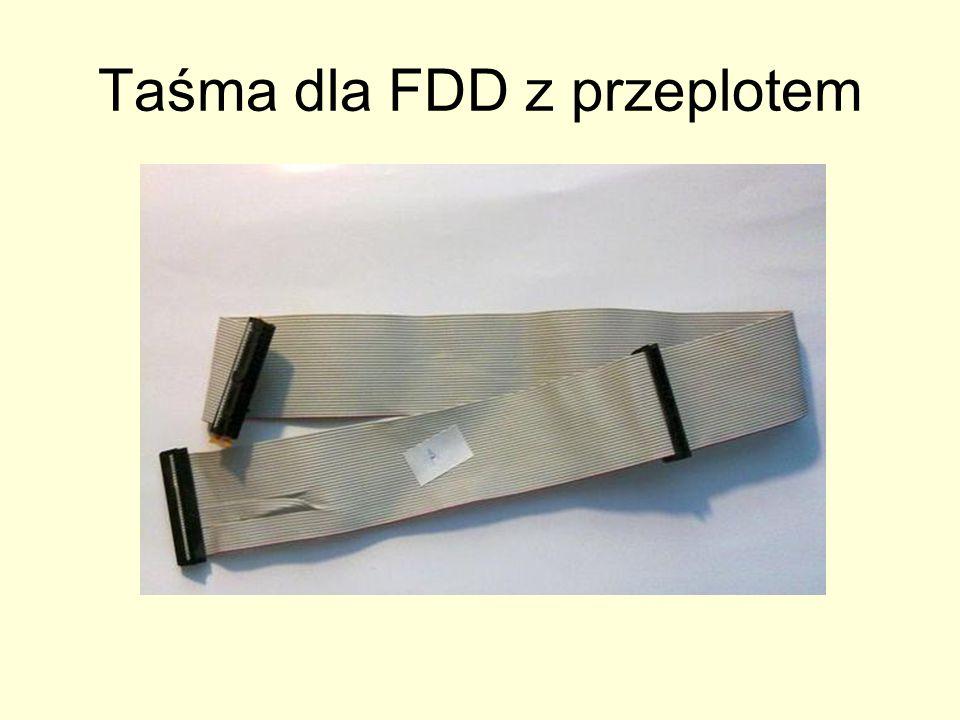 Taśma dla FDD z przeplotem