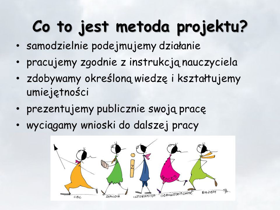Co to jest metoda projektu.