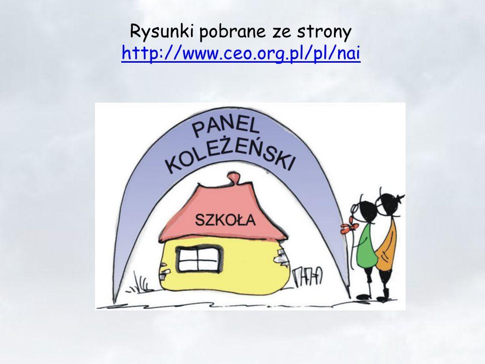 Rysunki pobrane ze strony http://www.ceo.org.pl/pl/nai http://www.ceo.org.pl/pl/nai
