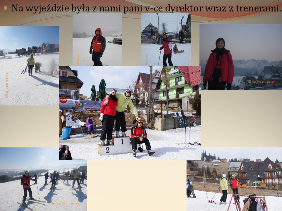 Niektórzy z nas odrabiali pracę domową, podczas gdy inni jeździli na nartach/snowboardzie.