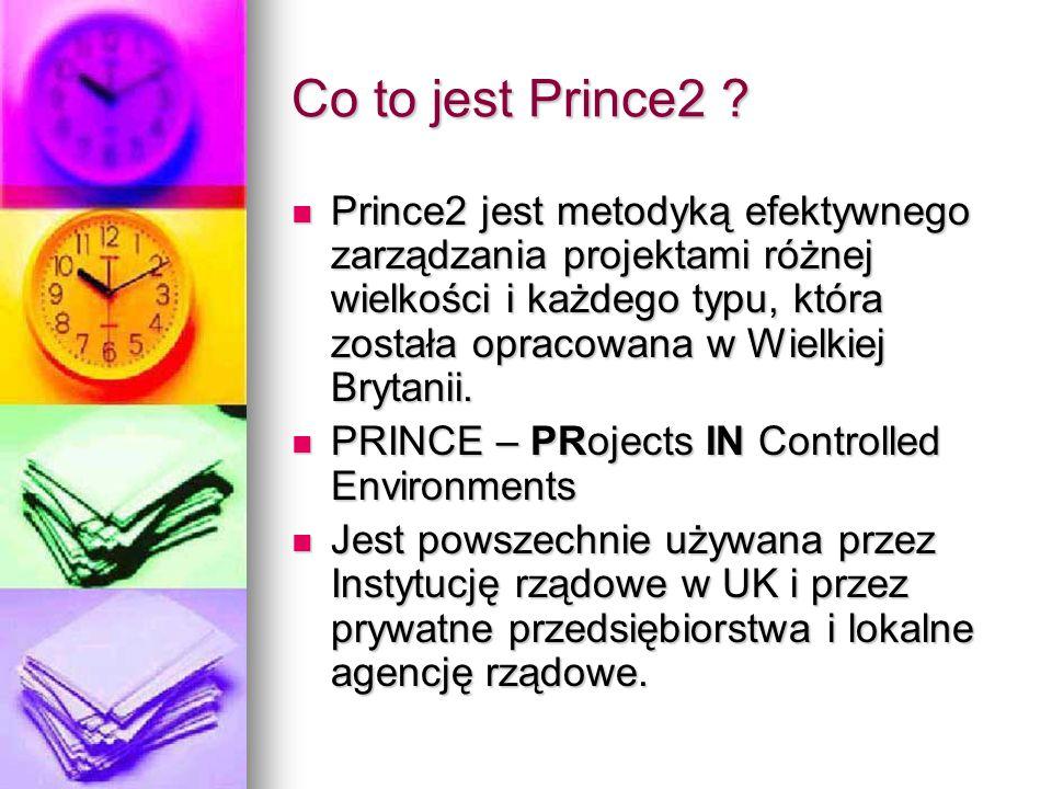 Co to jest Prince2 ? Prince2 jest metodyką efektywnego zarządzania projektami różnej wielkości i każdego typu, która została opracowana w Wielkiej Bry