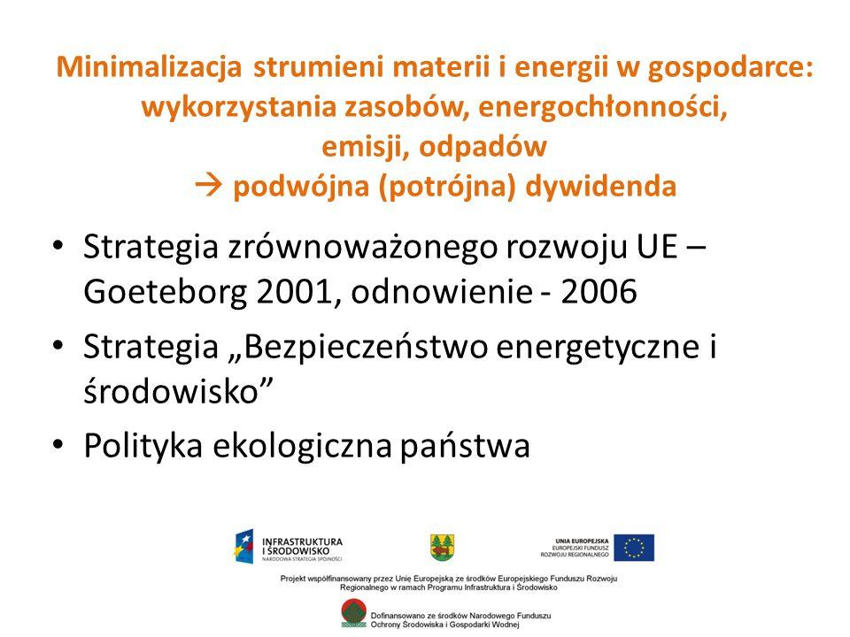 RPO WP, oś priorytetowa I: Wzmocnienie potencjału i konkurencyjności gospodarki regionu – w ramach Działania 1.6 priorytetowe traktowanie tworzenia miejsc pracy na obszarach cennych przyrodniczo.