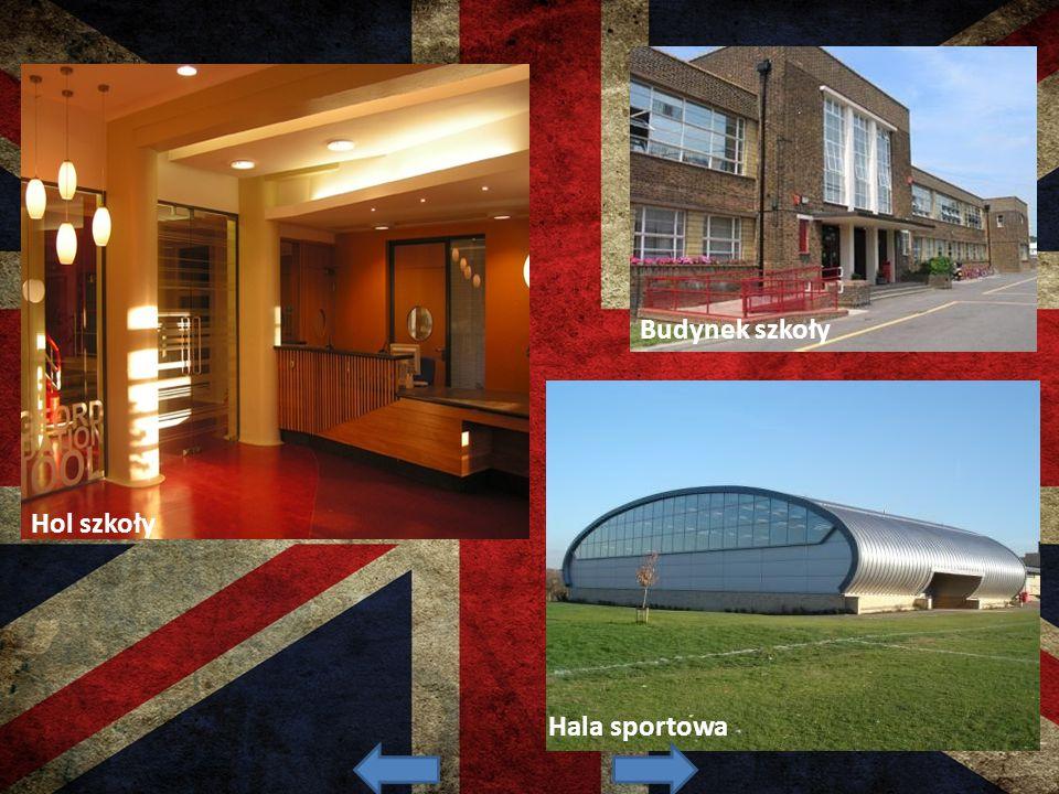 Hol szkoły Hala sportowa Budynek szkoły